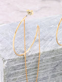 Chain Link Earring Anarchy Street Gold - Details