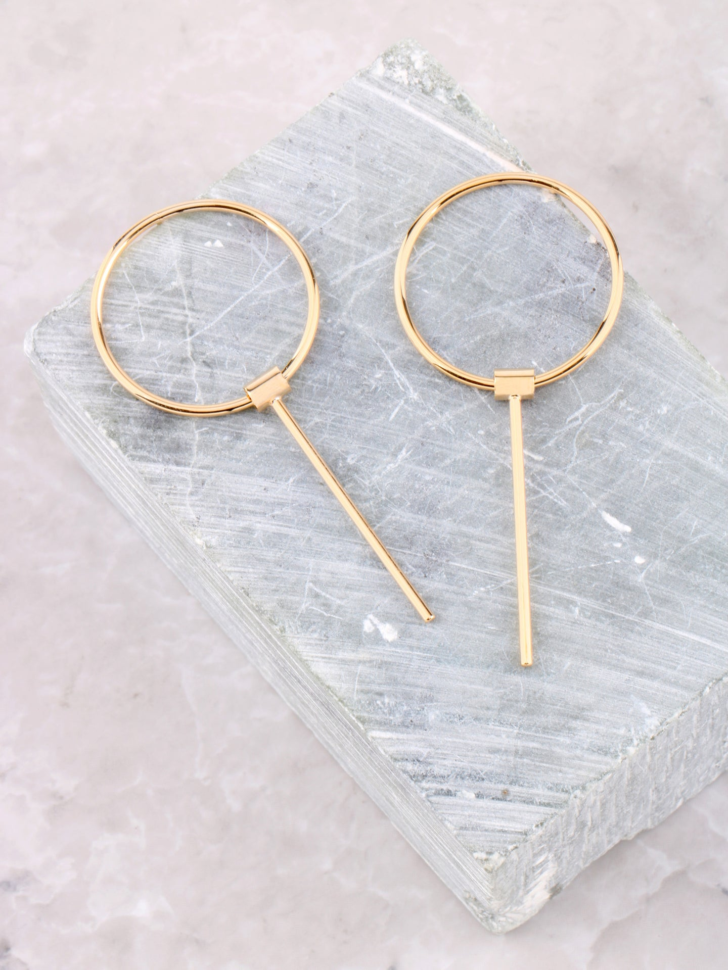 What Goes Around Earrings Anarchy Street Gold