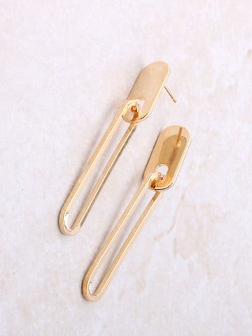 Keyhole Earring Anarchy Street Gold