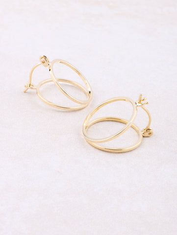 Half Open Earring Anarchy Street Gold