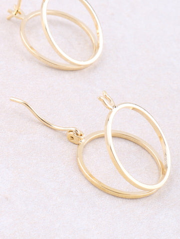 Half Open Earring Anarchy Street Gold - 1 Details