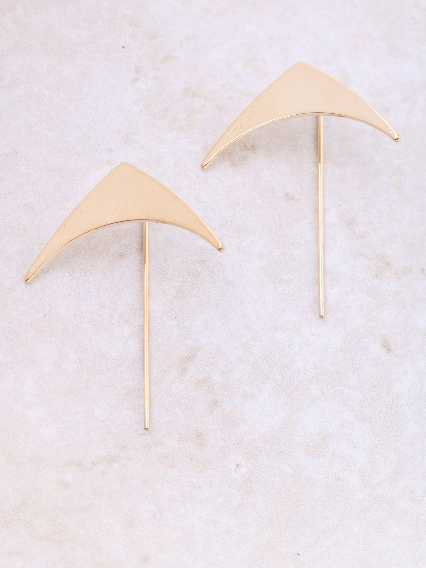 Wing Statement Earring Anarchy Street Gold