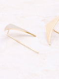 Wing Statement Earring Anarchy Street Gold - Details