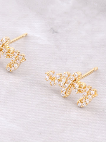 Pave Wifey Earring