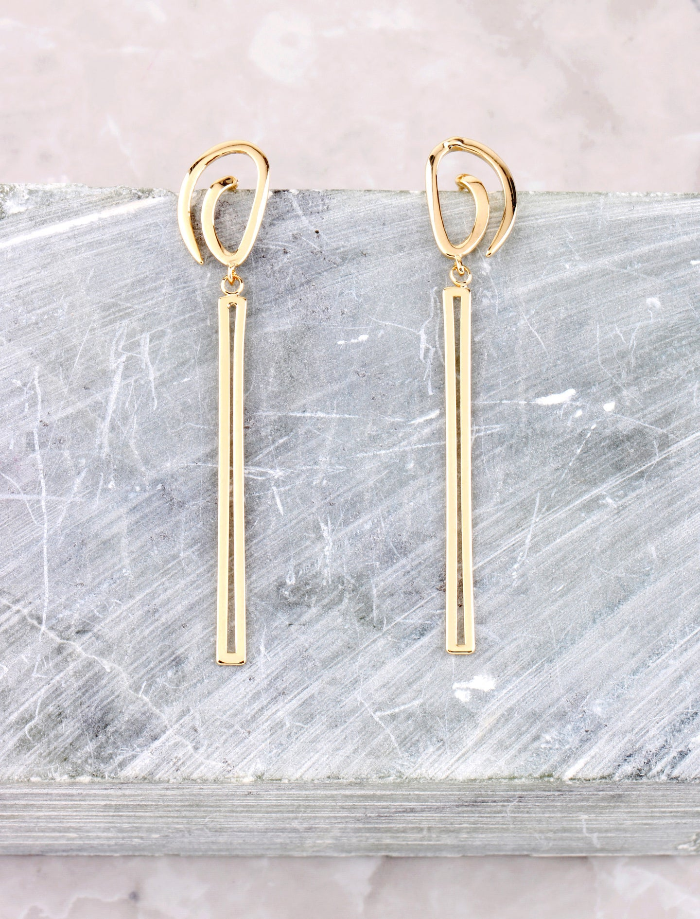 Whirl Drop Earring Anarchy Street Gold