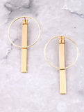 Pendulum Earrings Anarchy Street Gold