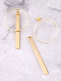 Pendulum Earrings Anarchy Street Gold - Details