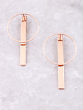 Pendulum Earrings Anarchy Street Rosegold