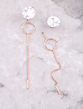 Marble Loop Bar Earring
