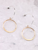 Open Curve Earring Anarchy Street Gold