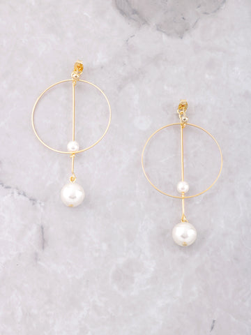 La Perla Earrings Anarchy Street Gold