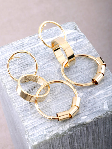 Interlock Loop Earrings