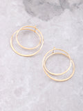 Swirl Earrings Anarchy Street Gold
