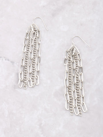 Multiple Chain Drop Earrings