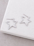 Starburst Stud Earrings Anarchy Street Silver