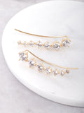 Party Ear Crawler Earrings Anarchy Street Gold