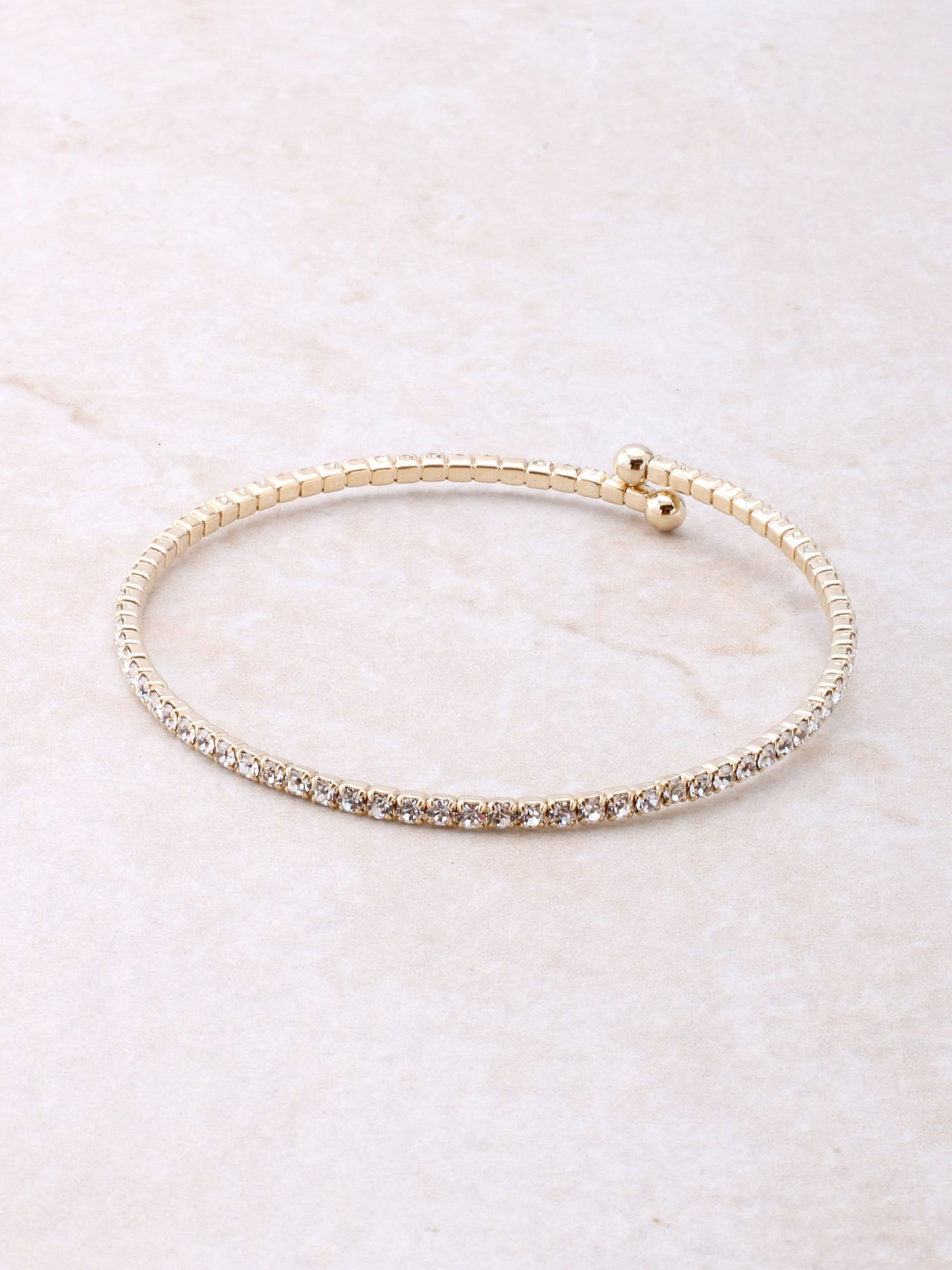 Fancy Wrap Bracelet Anarchy Street Gold