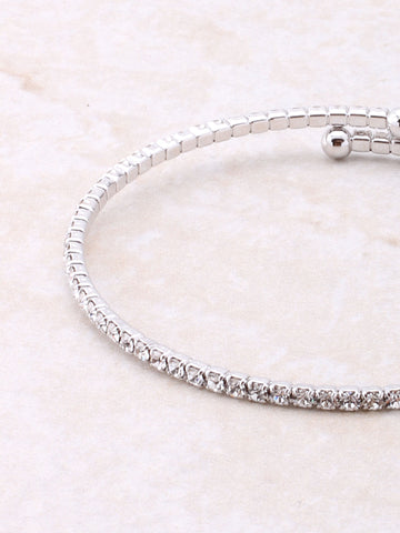 Fancy Wrap Bracelet Anarchy Street Silver - Details