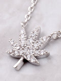 Mary Jane Pave Necklace Anarchy Street Silver - Details