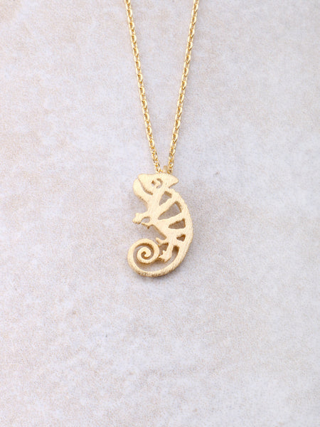 Chameleon Necklace Anarchy Street Gold