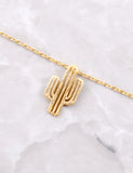 Desert Flower Necklace Anarchy Street Gold - Details