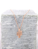 Desert Flower Necklace Anarchy Street Rosegold