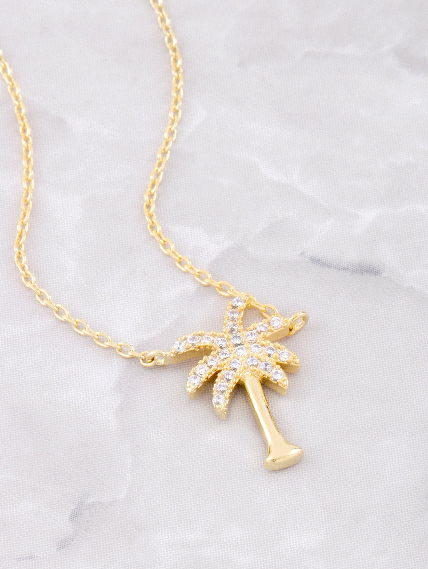 Summertime Fine Necklace Anarchy Street Gold
