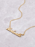 Hometown Necklace Anarchy Street Gold - 29