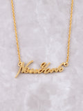 Hometown Necklace Anarchy Street Gold - 19