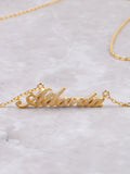 Hometown Necklace Anarchy Street Gold - Details - 47