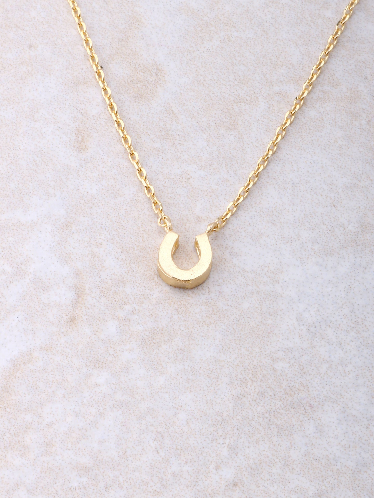 Horseshoe Necklace Anarchy Street Gold