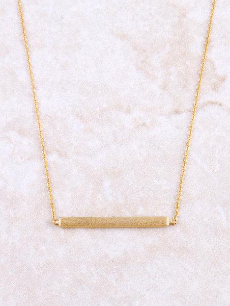 Above The Bar Necklace Anarchy Street Gold