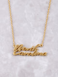 Hometown Necklace Anarchy Street Gold - 27