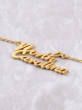 Hometown Necklace Anarchy Street Gold - Details - 61