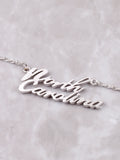 Hometown Necklace Anarchy Street Silver - Details - 62