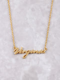 Hometown Necklace Anarchy Street Gold - 7