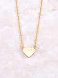 Dainty Love Necklace Anarchy Street Gold - Details