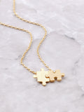 Puzzle Necklace Anarchy Street Gold
