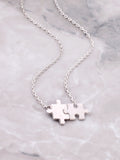 Puzzle Necklace Anarchy Street Silver