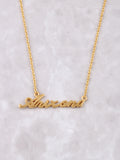 Hometown Necklace Anarchy Street Gold - 33