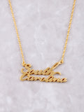 Hometown Necklace Anarchy Street Gold - 15
