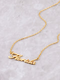 Hometown Necklace Anarchy Street Gold - 11
