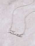 Hometown Necklace Anarchy Street Silver - 12