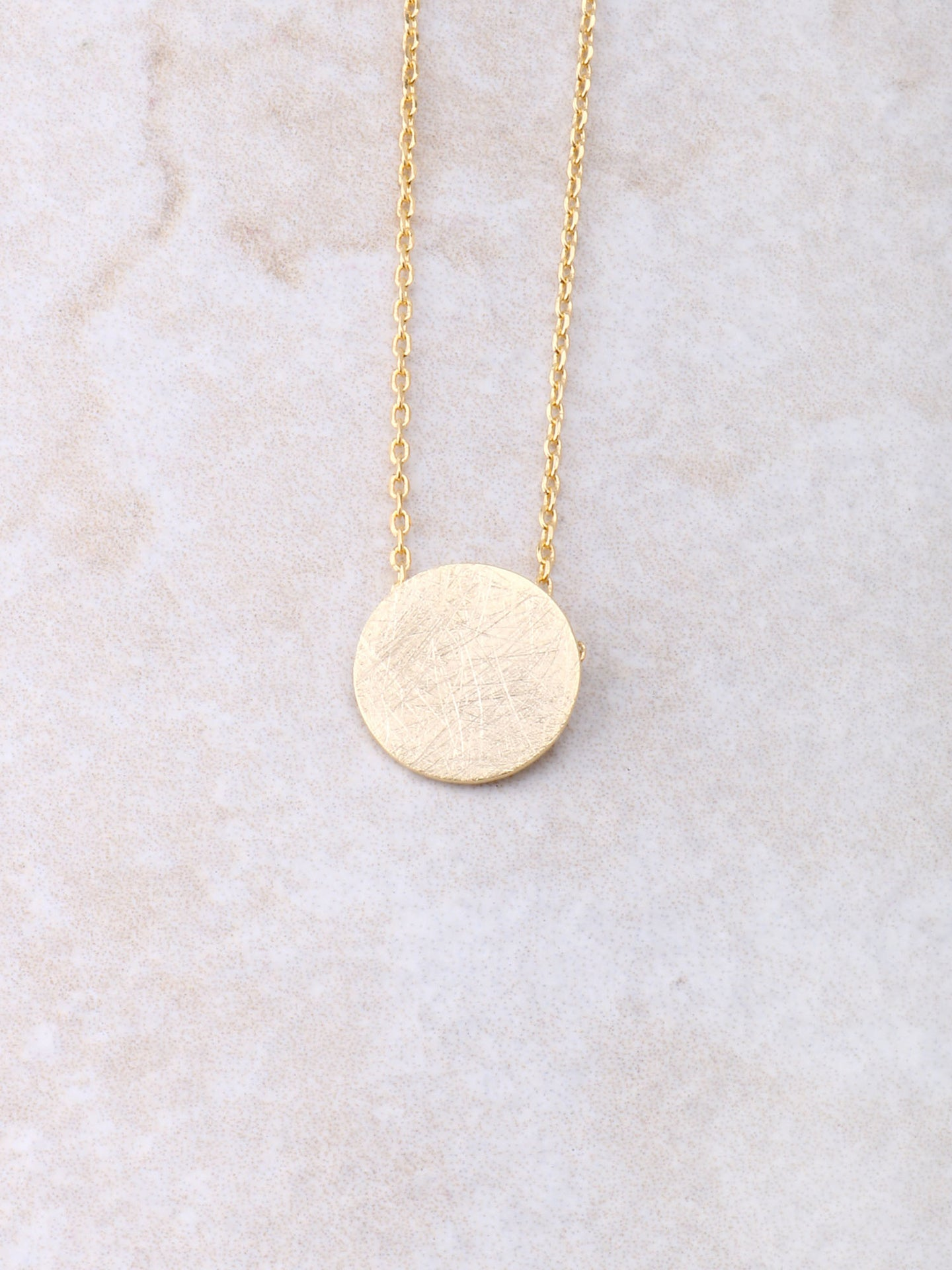 Coin Lucky Necklace Anarchy Street Gold