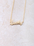 Lucky Necklace Anarchy Street Gold