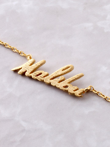 Hometown Necklace