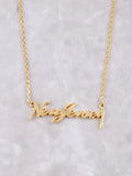 Hometown Necklace Anarchy Street Gold - 5