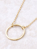 Infinite Circle Necklace Anarchy Street Gold - Details