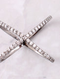 Multi Diamond X Ring