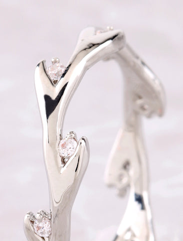 Tree Branch Ring Anarchy Street Silver - Details